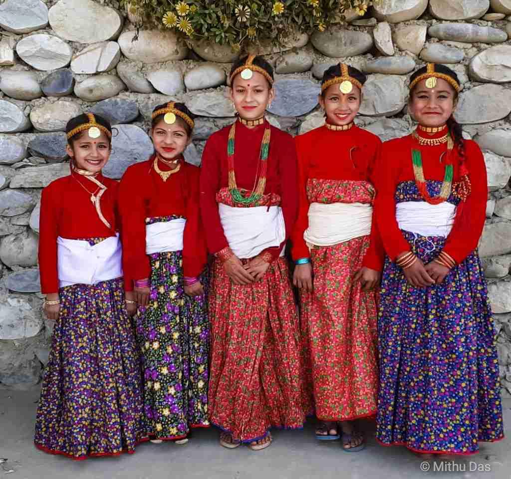 Nepali costumes