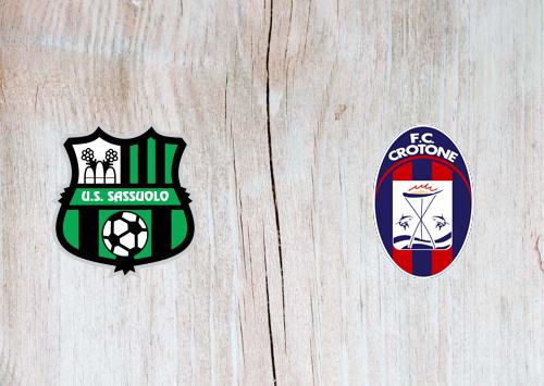 Sassuolo vs Crotone -Highlights 03 October 2020