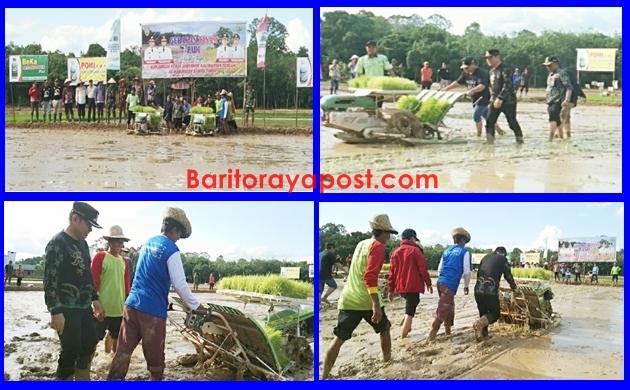 Gubernur Kalteng Dan Bupati Bartim Bergelut Dengan Lumpur Di Sawah, Ini Faktanya!