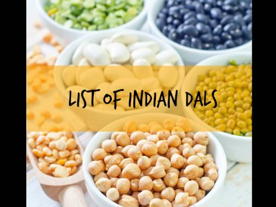 list of indian dals