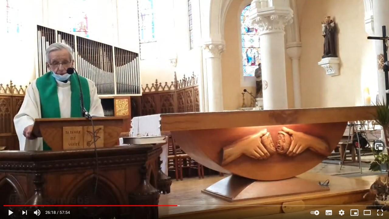 Messe en direct du dimanche 14 février 2021