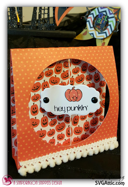 Created In the Crafting Cave with Lisa Tent Cards by SVG Attic