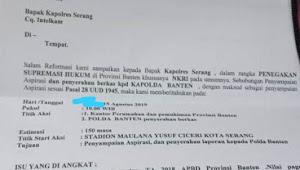 PRKP Banten Akan Didemo Massa, Proyek  Sport Centre diduga Mark Up