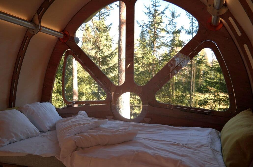 02-Nature-Bedroom-view-Tree-Tents-The-Fuselage-Glamping-in-Nature-www-designstack-co