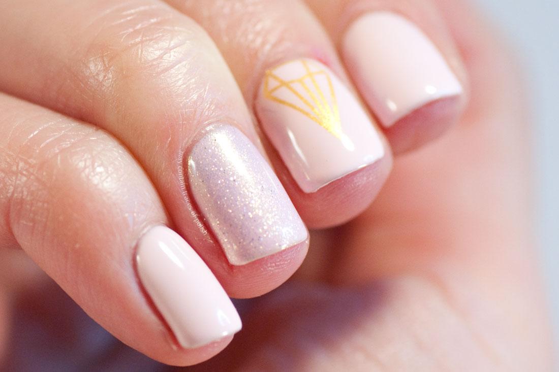 Nails Cool Natural Pink Nail Polish Design For A Playful Summer