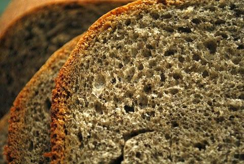 Fluffy Black Sesame Bread