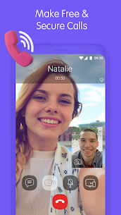 Viber Messenger v11.9.5.0 [Patched] MOD APK