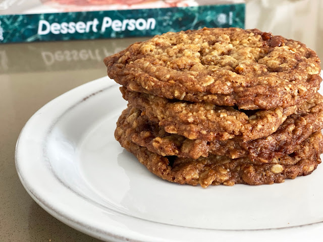 Claire Saffitz's Oat and Pecan Brittle Cookies, by freshfromthe.com.