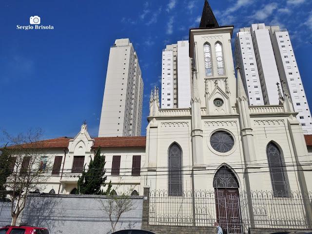 Vista ampla do Mosteiro da Visitação de Santa Maria - Vila Mariana - São Paulo