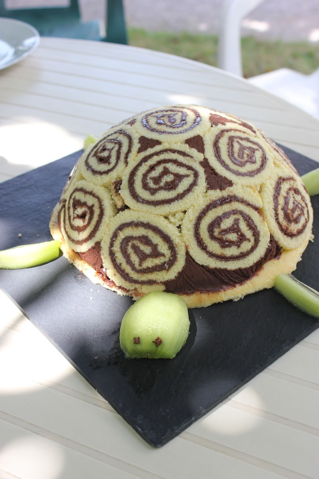 Gateau anniversaire tortue