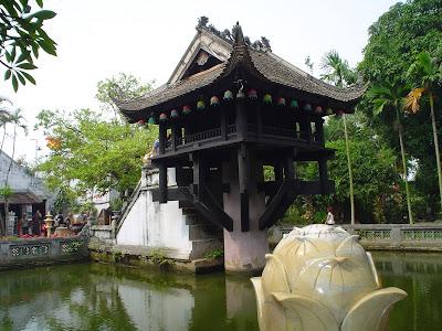 Ou Pagode au pilier unique Pagode au pilier unique. Hanoi, Vietnam