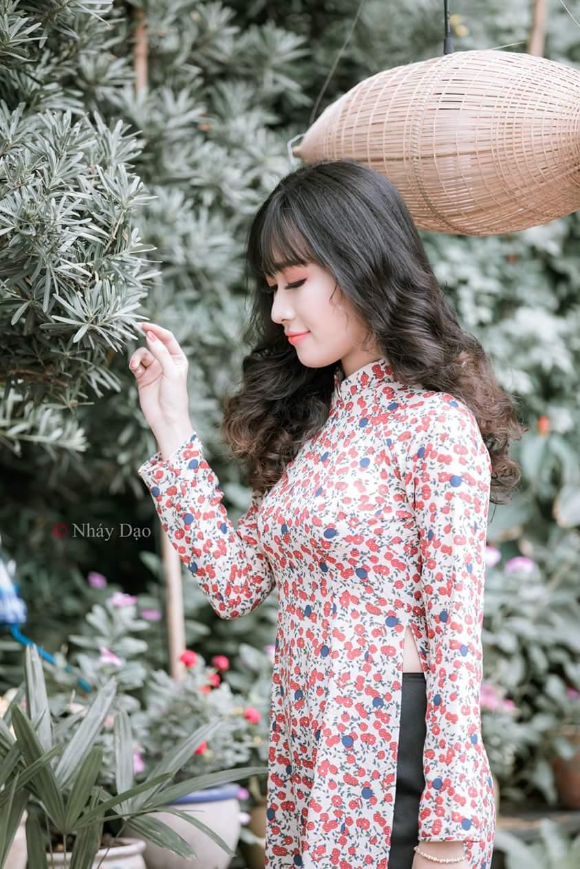 Tuyển tập girl xinh gái đẹp Việt Nam mặc áo dài đẹp mê hồn #60 - 12