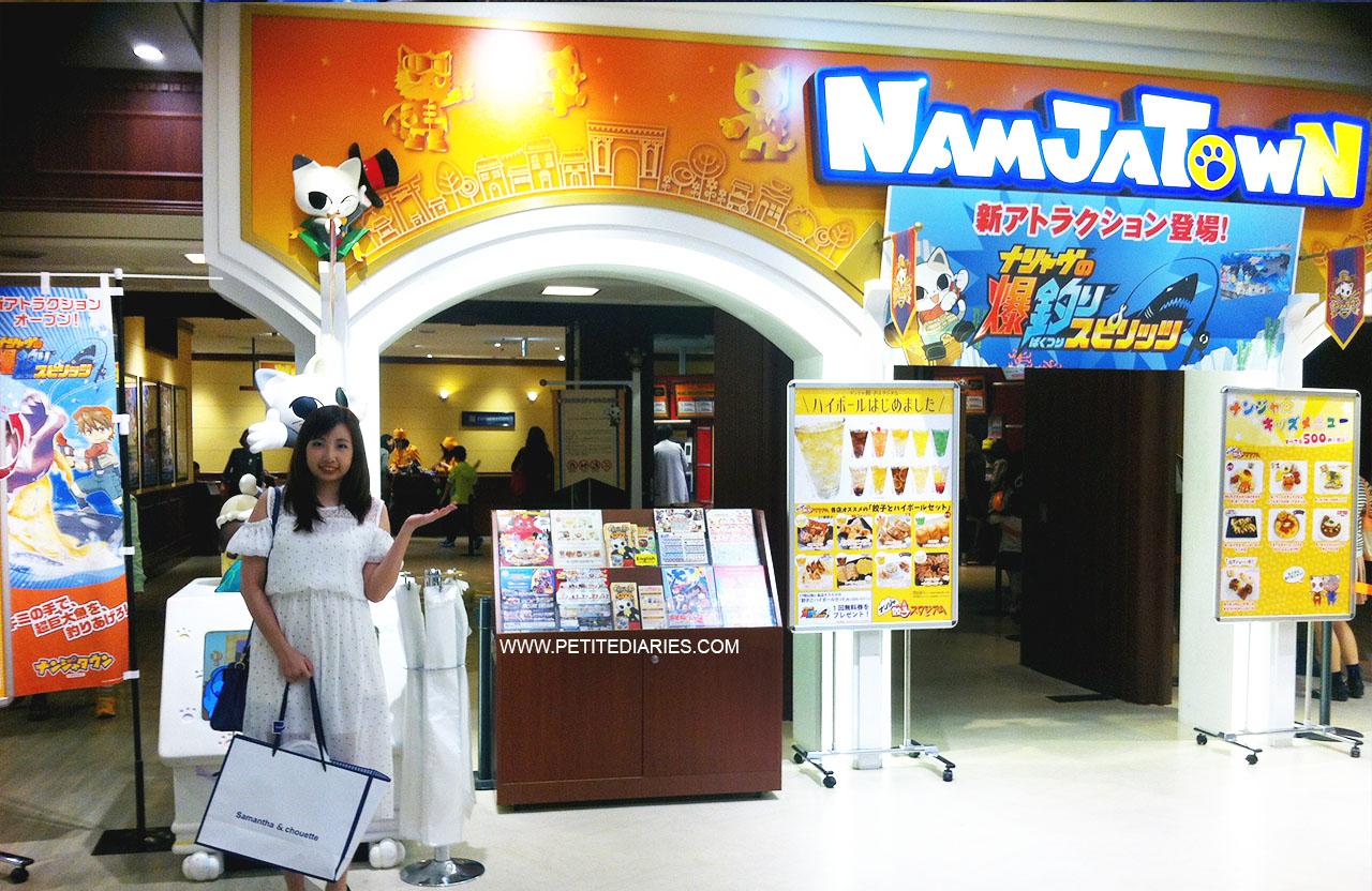 namco namjatown theme park indoor ikebukuro sunshine city