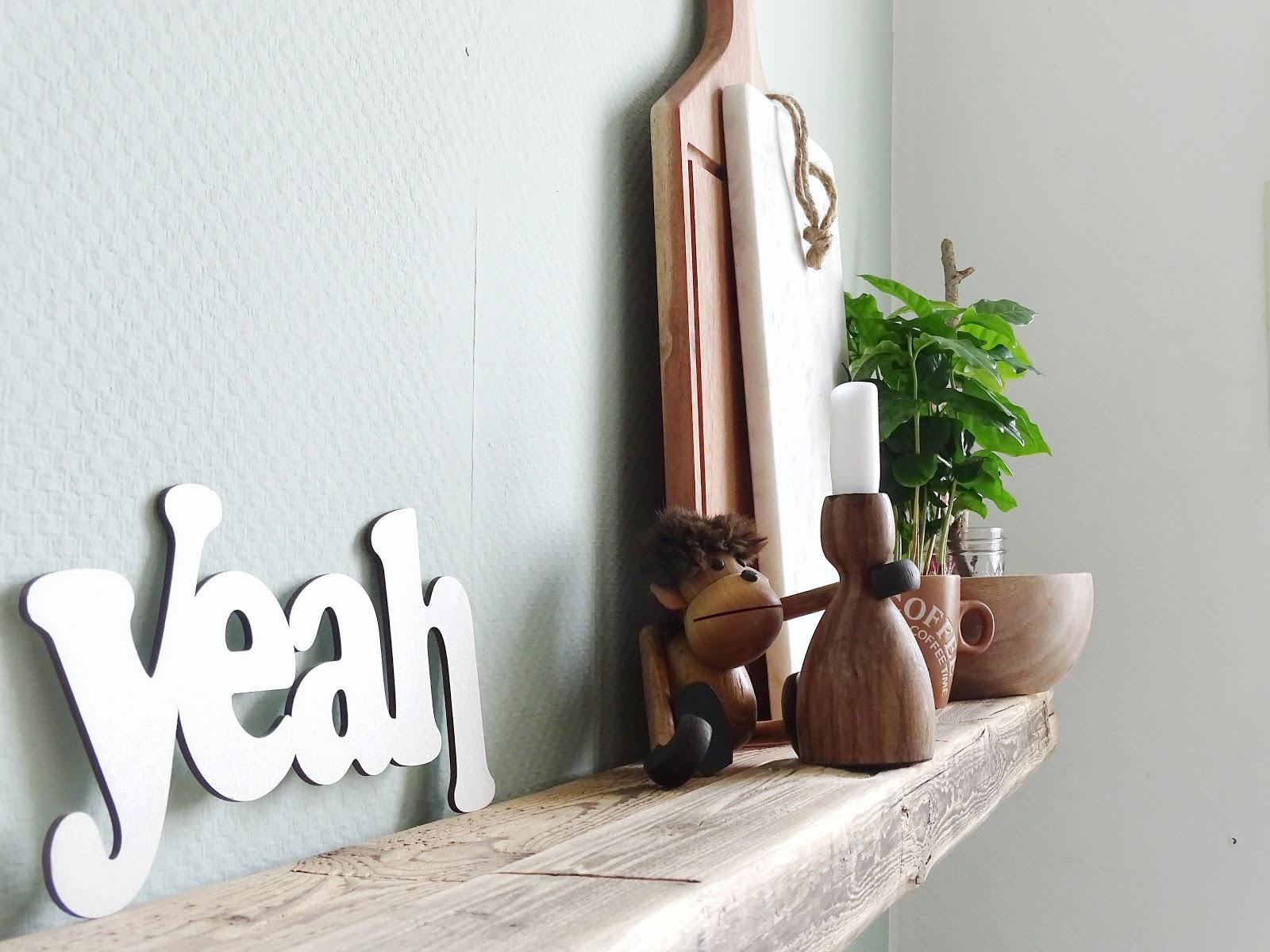 Altholz-Regal und Deko-Idee Regale - Fotoaktion #12von12 - http://mammilade.blogspot.de