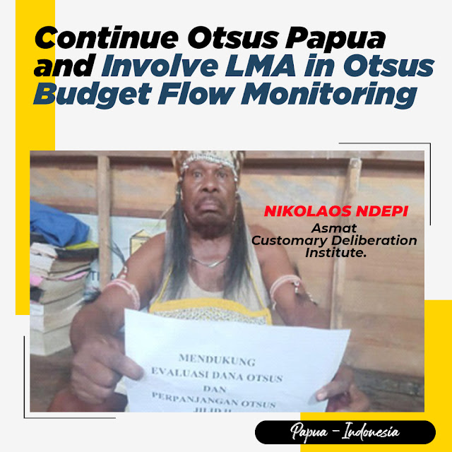 Mandobo Tribal Leaders Support Otsus with Evaluation