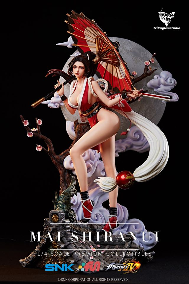 Mai Shiranui en una espectacular estatua de TriEagles Studio.