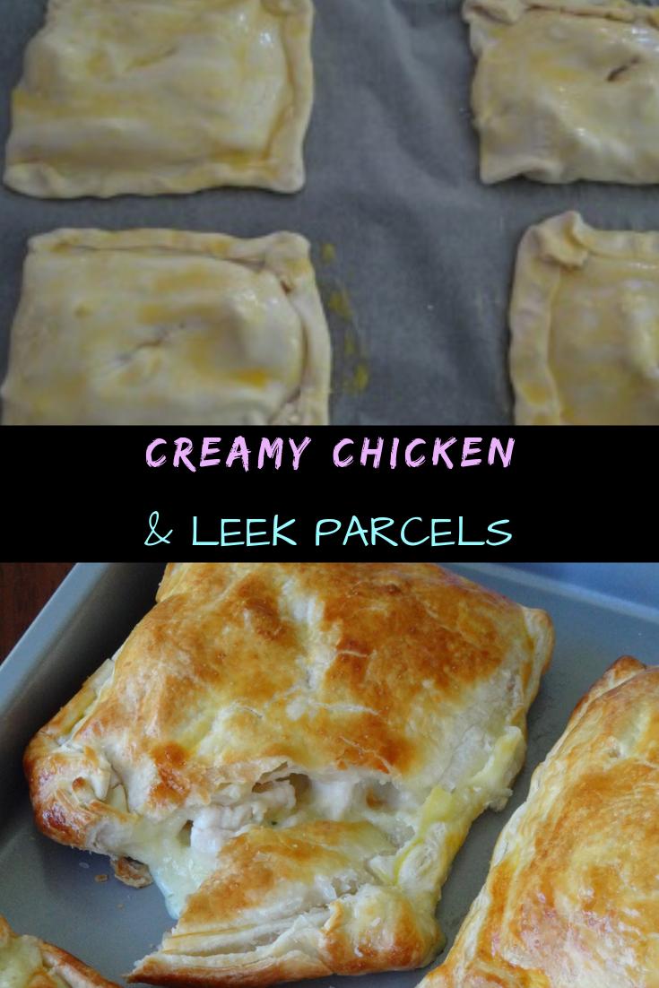 Creamy Chicken & Leek Parcels Recipe