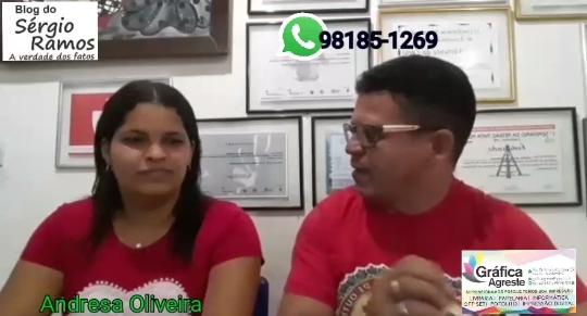 Jovem da comunidade do Pedregulho Andresa Oliveira apresenta seu nome como pré-candidata a vereadora em Vertente do Lério