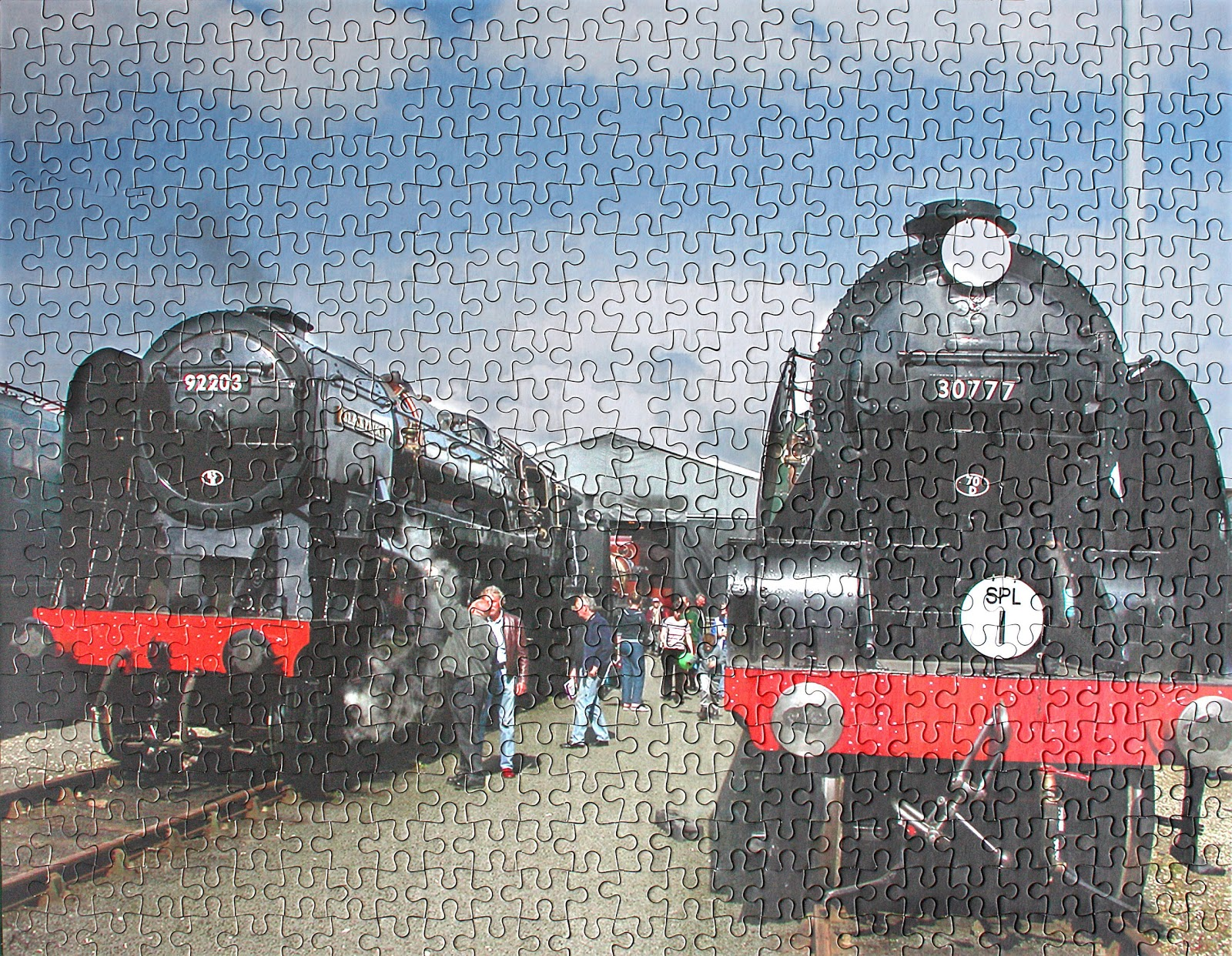 And Steam Trains Steam Jigsaw Puzzles2012 f76gYby