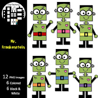 Mr. Frankenstein Clipart