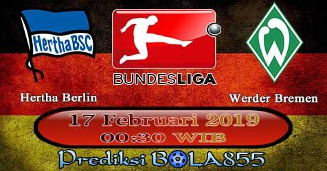 Prediksi Bola855 Hertha Berlin vs Werder Bremen 17 Februari 2019
