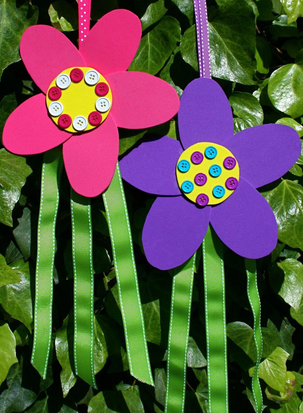 Smart Bottom Enterprises Flower Streamers Craft Kit