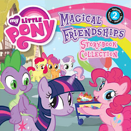 MLP The World of Ponies Storybook Collection vol. 2 Book Media
