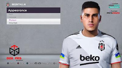 PES 2021 Faces Enzo Roco by Dzayer PES