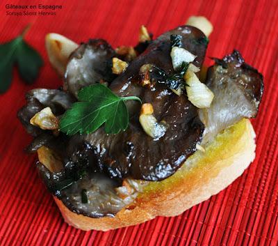 recette champignons rapide