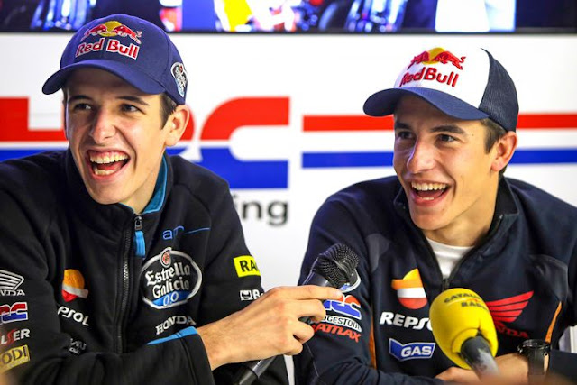 "The 52-year-old man assessed that by joining Alex Marquez in his team would be an advantage in itself.  ""So, I don't see how Alex's presence will negatively affect Marc, the reality is he feels happy,"" said Alberto Puig, quoted by BolaSport.com from Motorsport-Total.  Furthermore, Puig said that Marc Marquez would actually feel worried if Alex joined the other team in his debut season in MotoGP."