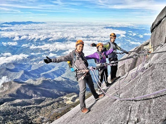 Mount Kinabalu Via Ferrata Experience (15 Photos)