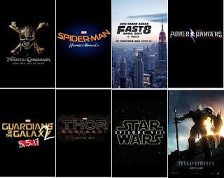 Upcoming Movies 2017