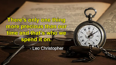 Time quotes - Leo Christopher quotes