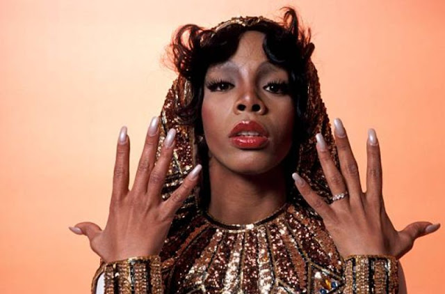 Donna Summer Photographed By Fin Costello 1976 Vintage