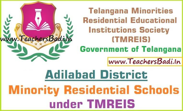 Adilabad District,Minority Residential Schools,TMREIS