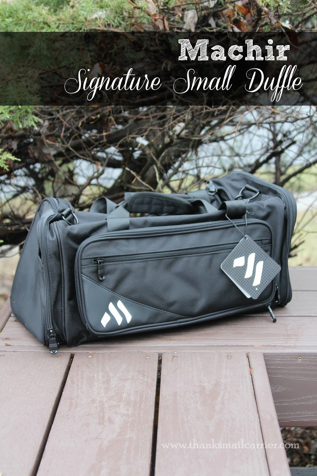 Machir Signature Small Duffle