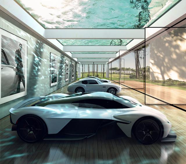 アストンマーティンが自動車愛好家向けのオーダーメイドガレージの設計を開始!