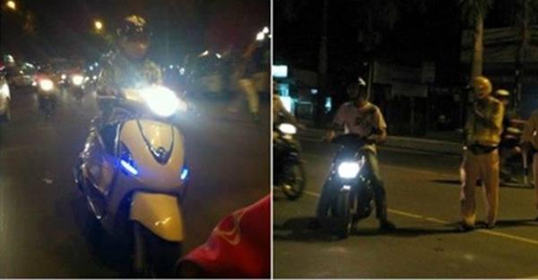 Chính Thức: Từ Nay, Bật Đèn Pha Trong Thành Phố Bị Phạt 700.000 Đồng