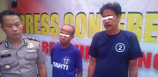 Dua Pedagang Togel Diringkus Polisi