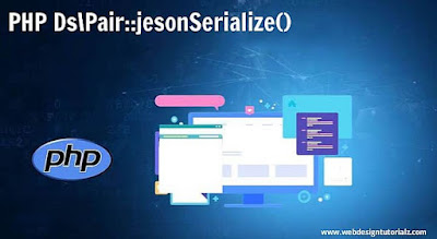 PHP Ds\Pair::jsonSerialize() Function