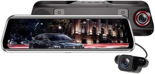 FOOKOO FOOKOO Mirror Dash Cam 1080P Touch Screen
