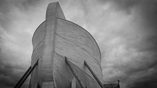 Los dueños de la réplica del arca de Noé demandan a sus compañías de seguros por lluvias