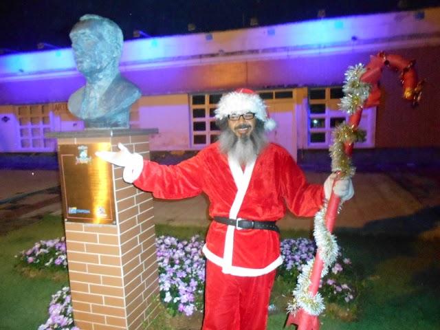 Chegada do Papai Noel em Itapema
