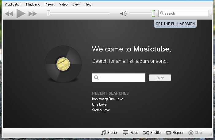 Cross Platform YouTube Music Player - MusicTube!