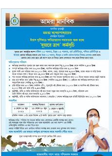Duare Tran Scheme। দুয়ারে ত্রাণ প্রকল্প। west Bengal Momota Benarjee