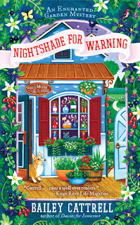 Guest Blog by Baily Cattrell and Review of Nightshade for Warning plus Giveaway