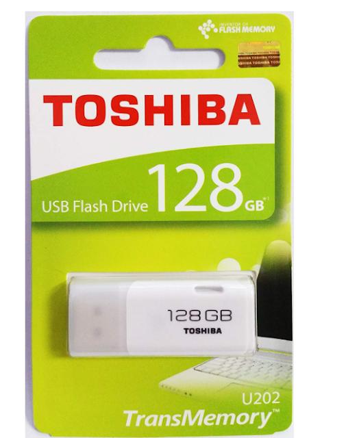 Toshiba Hayabusa U202 128GB USB 2.0 Pendrive (White)