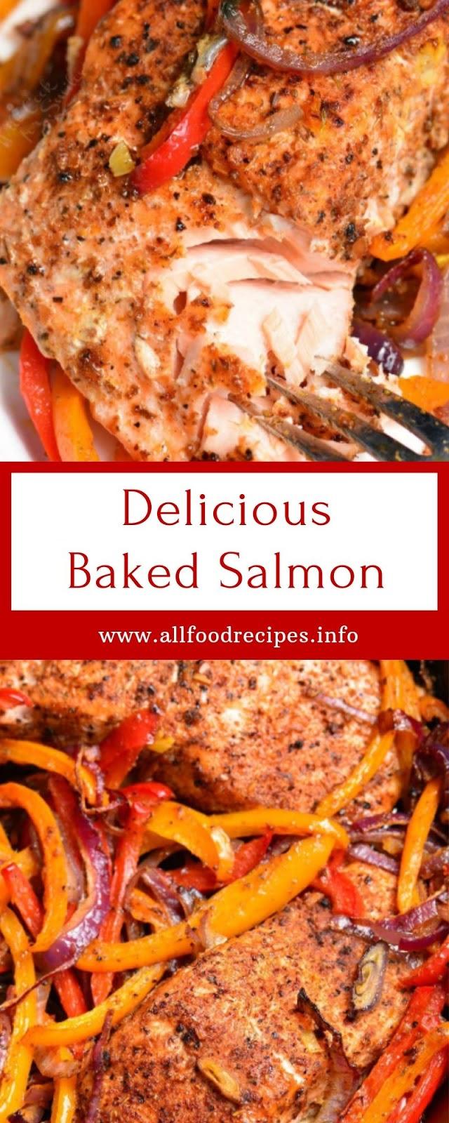 Delicious Baked Salmon