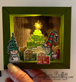 lighted gnome house when you are gnome for the holidays.  Great gift for your children and grand children