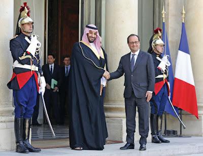 اخر اخبار السعودية اليوم : ولي ولي العهد في فرنسا لمقابلة هولاند